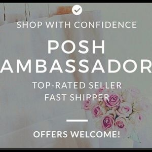 I'm a posh ambassador!!!!